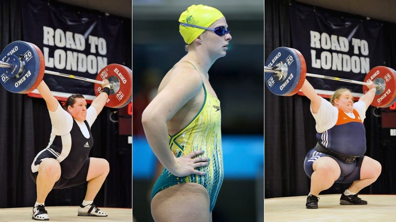 Illustration for article titled Not Every Olympian Is Jacked: Fat and Athleticism Aren't Mutually Exclusive