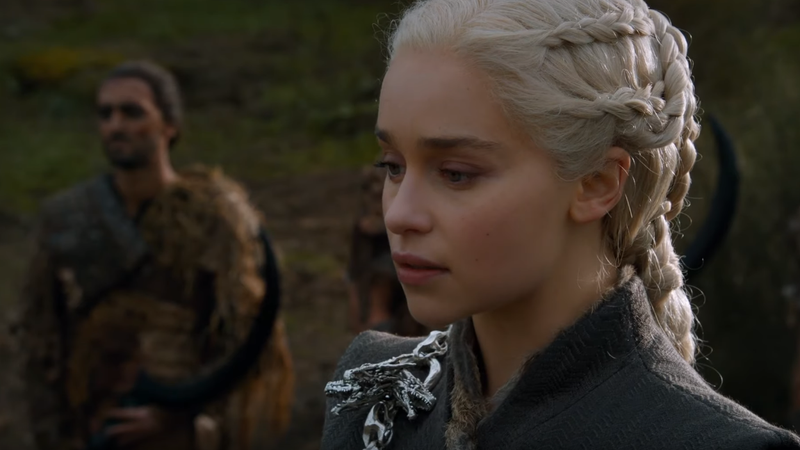 Daenerys in Game of Thrones.