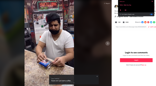 Google s Live Caption Tool Is Now Available as a Hidden Feature in Chrome