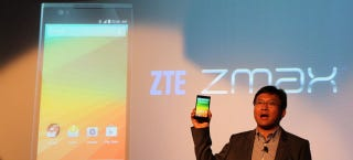 Illustration for article titled ZTE Brings Its Phablet-Sized ZMax to T-Mobile
