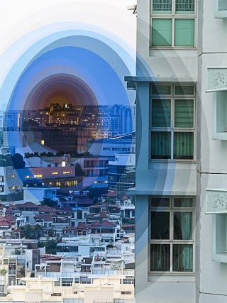 Illustration for article titled Hypnotic layered photographs depict time like the dimension that it is