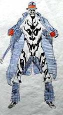 Illustration for article titled Watchmen's Rorschach Was Almost A 1970s Flasher