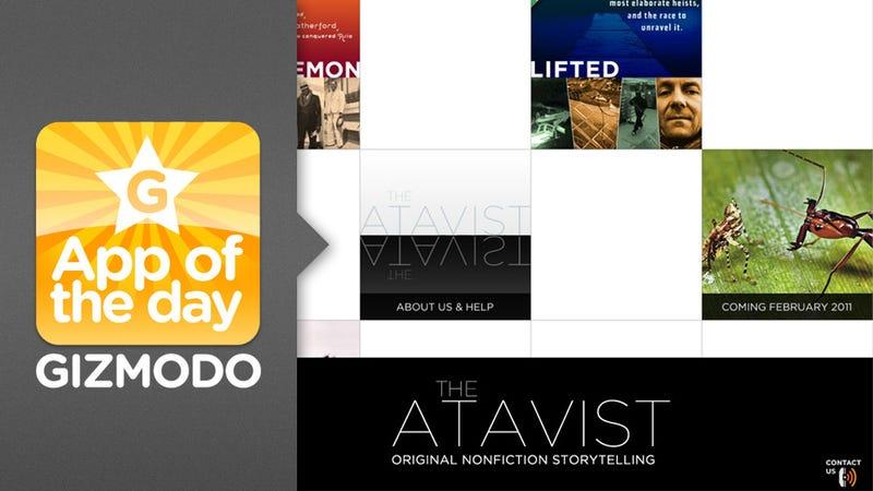 Illustration for article titled The Atavist for iPad