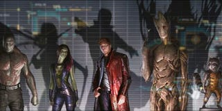 Illustration for article titled I saw a 17 minute excerpt/preview of Guardians of the Galaxy tonight ...