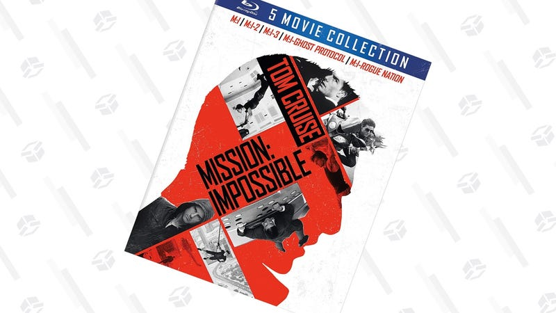 Mission: Impossible - The 5 Movie Collection | $20 | Amazon