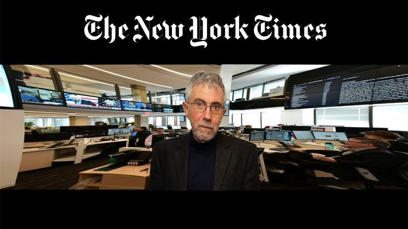 Illustration for article titled 'New York Times' VR Program Takes User Inside Immersive, 3D World Of Paul Krugman
