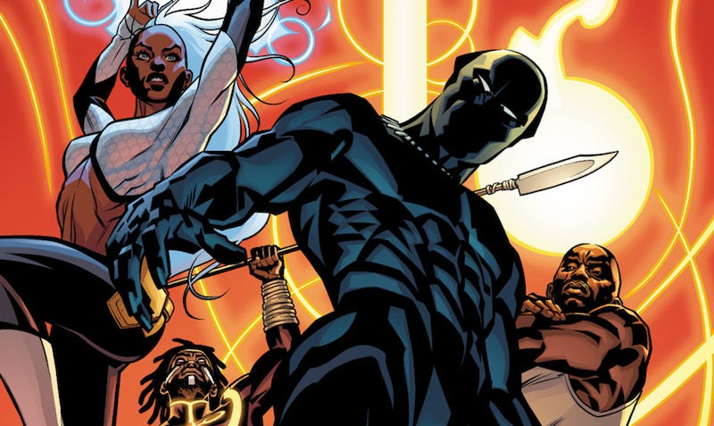 Ta-Nehisi Coates' Black Panther & the Crew comic has been