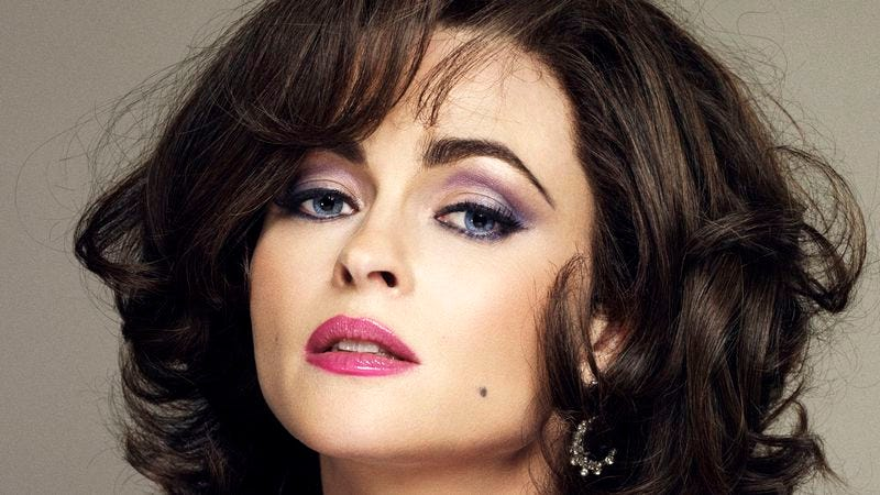 Photo: Helena Bonham Carter as Elizabeth Taylor in BBC'S Burton And Taylor