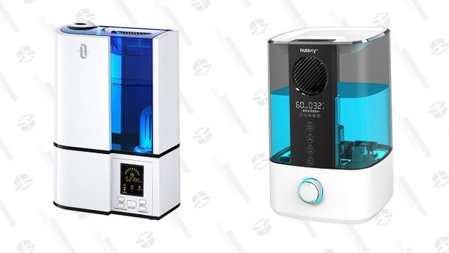 Get a Humidifier You Can Fill From the Top or Control via Wi-Fi for Just $40