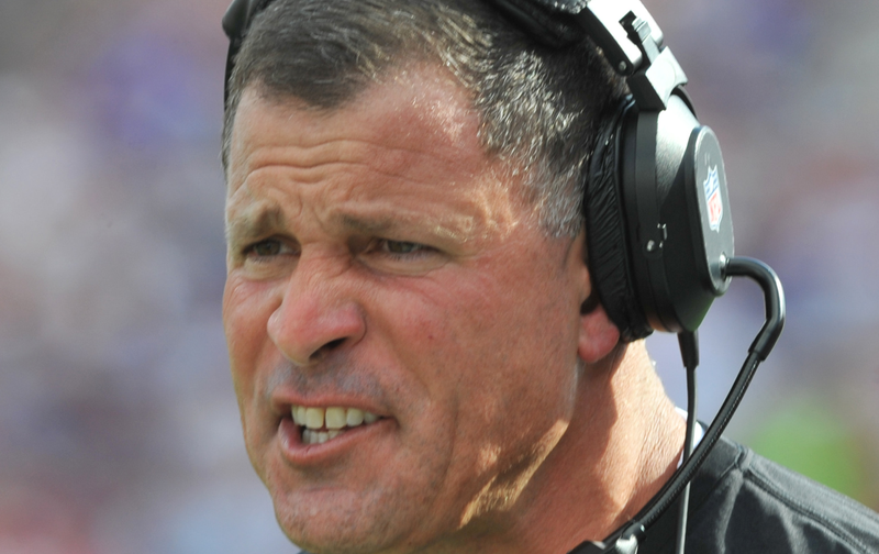 """Illustration for article titled Greg Schiano Cooks Bacon In """"A Pile"""" Like Some Kind Of An Idiot"""