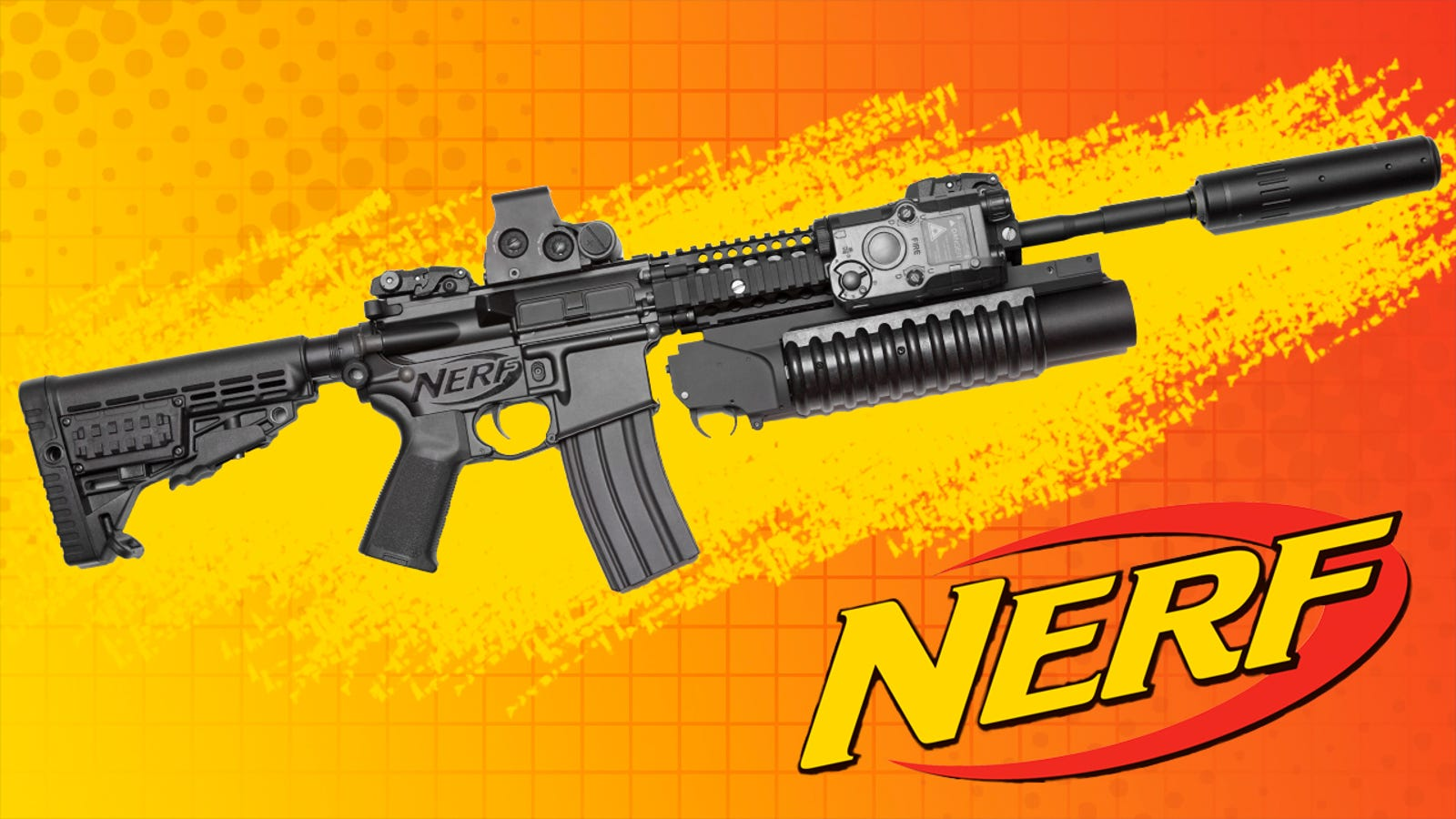 Nerf Introduces Line Of Real Guns