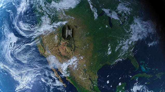 Average American Life Expectancy Falls One Year After 97,000-Square-Mile Anvil Drops On Wyoming