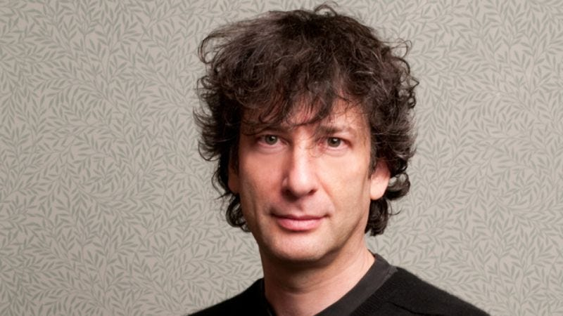 Illustration for article titled Neil Gaiman