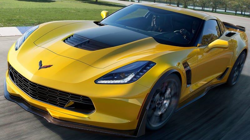 Illustration for article titled Chevrolet Could Make A Stripped-Down Corvette Z06X For The Track