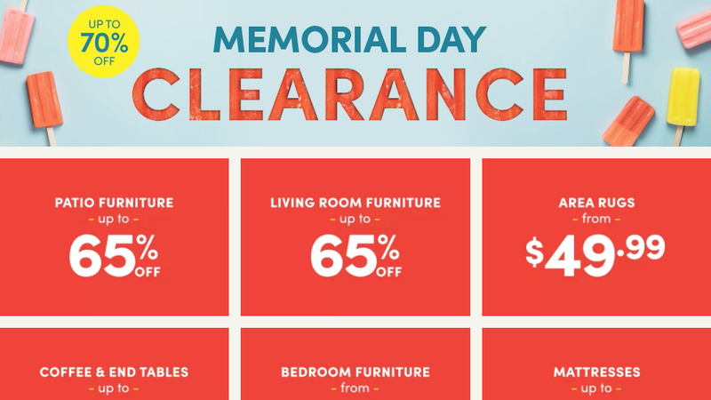 Spend Your Long Weekend Redecorating With Wayfair's Memorial Day Clearance Sale