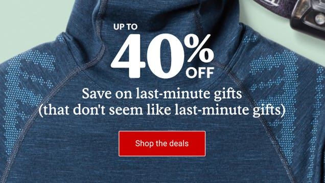 REI s Last Minute Gifts Sale Will Save You Up To 40% On Gear