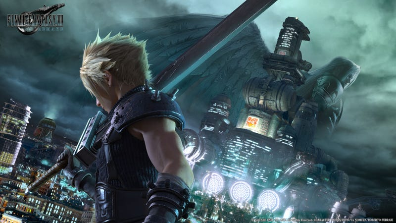 Illustration for article titled Final Fantasy 30th Anniversary Celebration Has No FF7News, But Pretty Art
