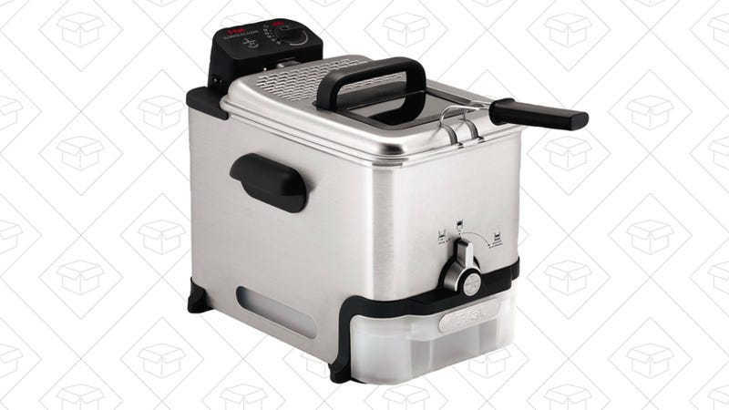 T-fal Fry Basket Stainless Steel Immersion Deep Fryer | $60 | Amazon