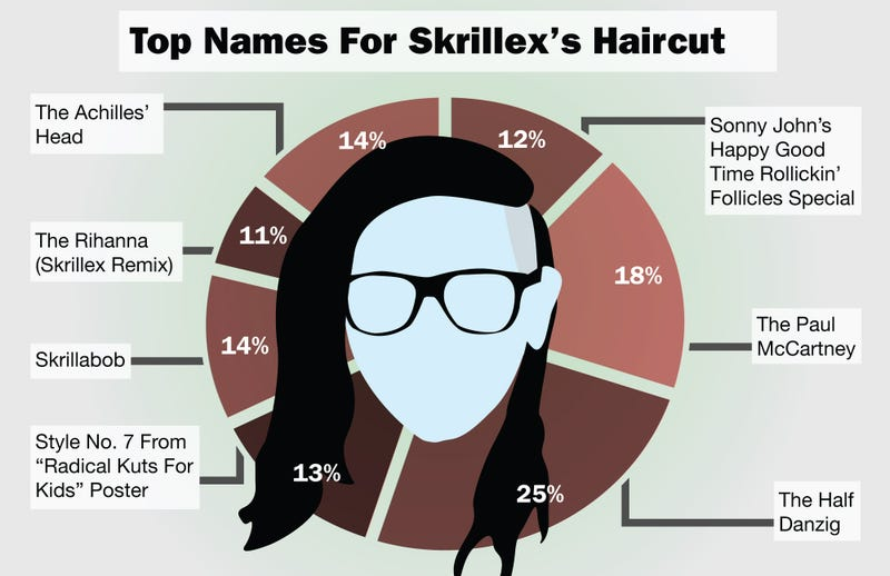 Illustration for article titled Top Names For Skrillex's Haircut