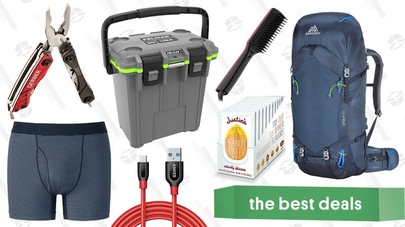 Illustration for article titled Saturday's Best Deals: Pelican Coolers, Uniqlo, Gerber Knives and Multitools, and More