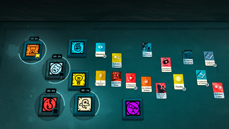Illustration for article titled In Cultist Simulator, Death Is Only The Beginning