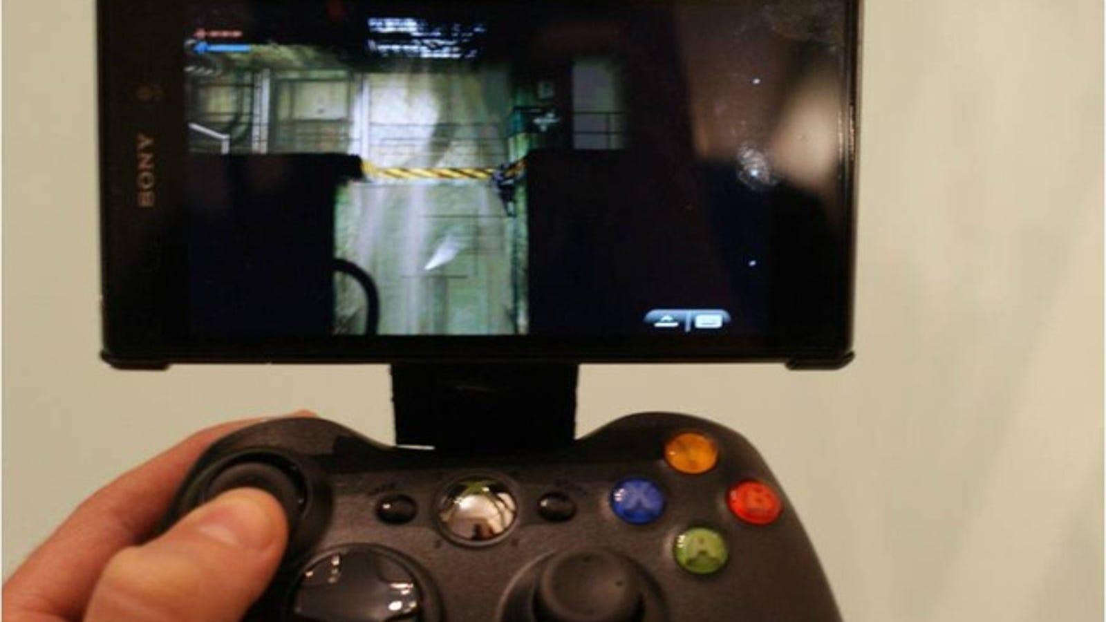 Cómo hacer tu Nvidia Shield con un mando de Xbox360 y un móvil Android