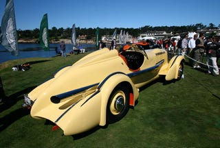 """Illustration for article titled """"Mormon Meteor"""" Duesenberg SJ Special Takes Pebble Beach Best in Show"""