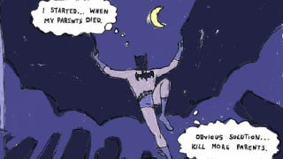 Illustration for article titled 10 Batman Webcomic Parodies (Occasionally) Better Than the Real Thing