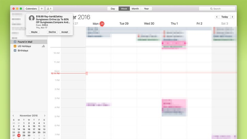 How To Remove Spam Invitations From iCloud Calendar