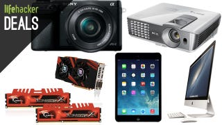 Illustration for article titled Deals: Awesome Sony Camera, PC Parts Galore, the Best <$1000 Projector
