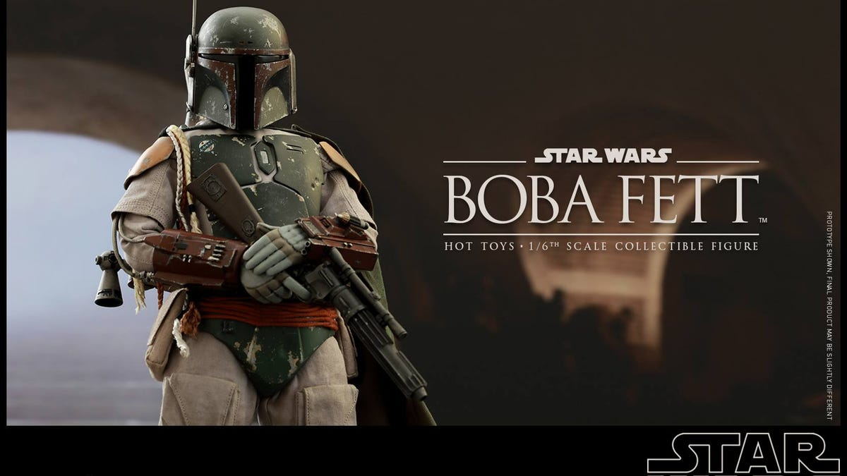 Hot Toys' Boba Fett Comes With A Sarlacc Pit To Eat Him Up