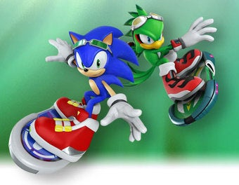 Illustration for article titled New Sonic Kinect Game Seems Familiar