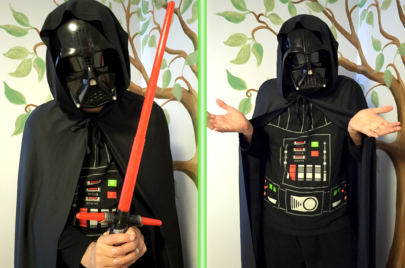 Illustration for article titled Can I Dress As Darth Vader At A 5-Year-Old's Birthday Party Without Terrifying Everyone?
