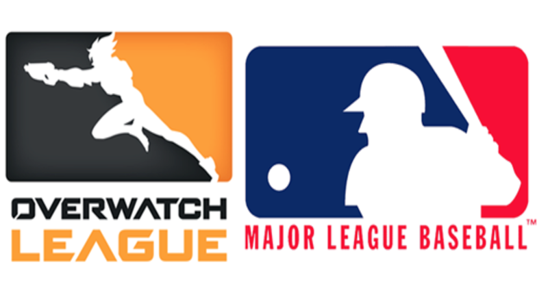 Are MLB, Overwatch League Logos Too Similar? MLB Apparently Thinks So