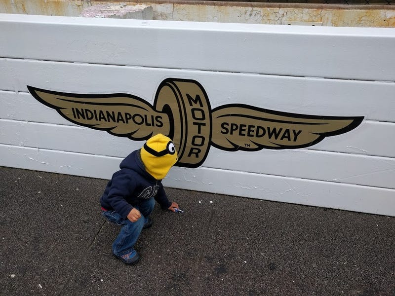 Illustration for article titled Youngest driver in history wins Indy Race