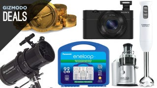 Illustration for article titled Eneloop Rechargeables, Kitchen Toys, Free Amazon Coins [Deals]