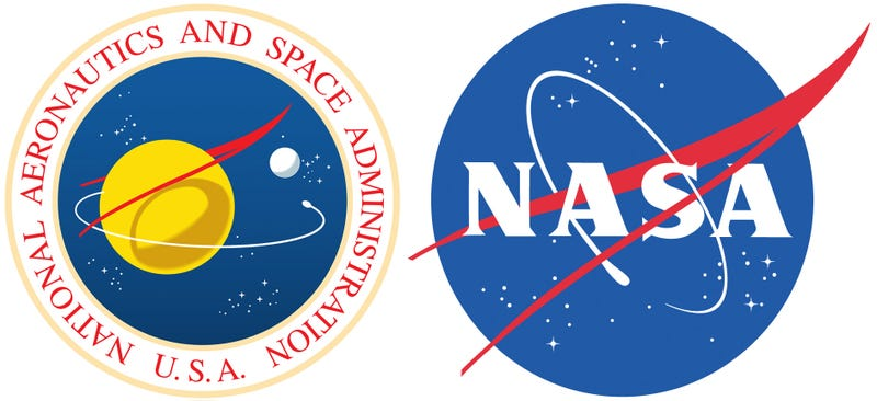 Illustration for article titled What's The Red Shape in NASA's Meatball Logo?