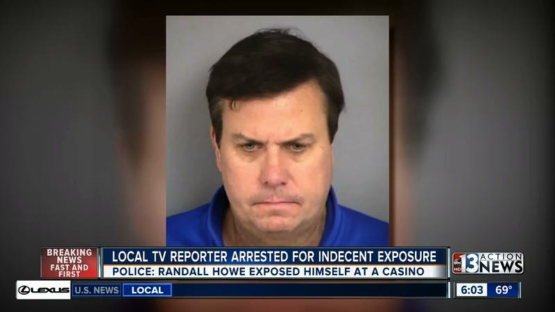 Illustration for article titled Las Vegas Sportscaster Arrested For Allegedly Masturbating At Bar, Says He Was Scratching A Rash