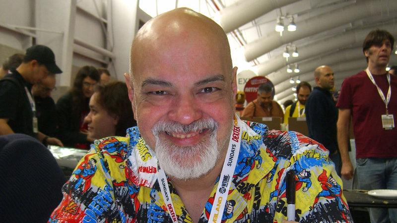 George Pérez in 2012.