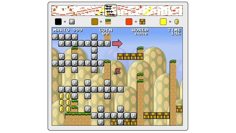 Illustration for article titled Humans Create Program That Builds Its Own Super Mario Bros. Levels