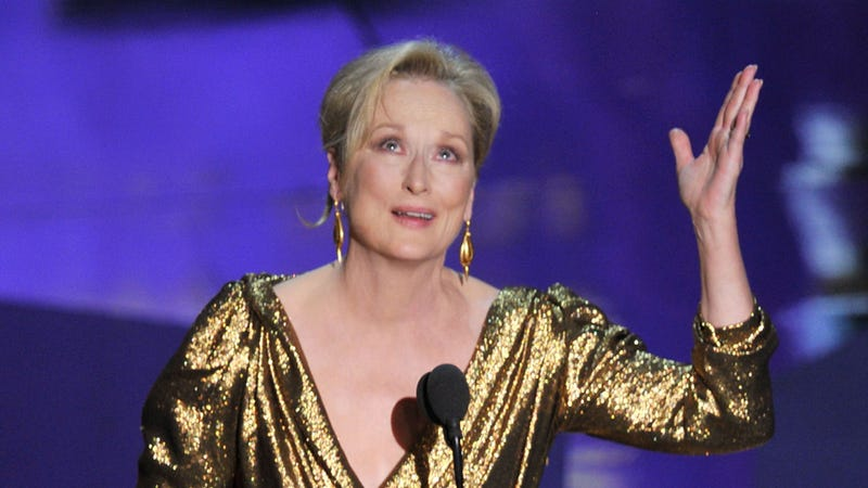 Illustration for article titled Oscar Winners Thank Meryl Streep More Than They Thank God