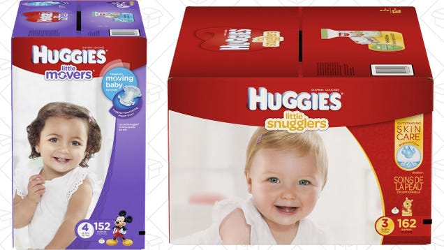 Prime Members Can Save Nearly 50% on Select Huggies Diapers Today