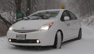 Illustration for article titled Tech-Savvy Prius Owner Uses Hybrid To Power House During Snow Storm