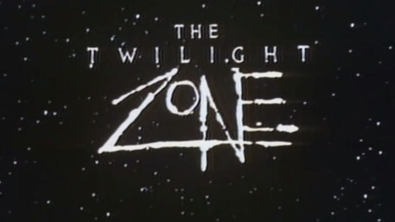 67307869f88b3 Illustration for article titled How the  80s Twilight Zone honored and  extended Rod Serling s legacy