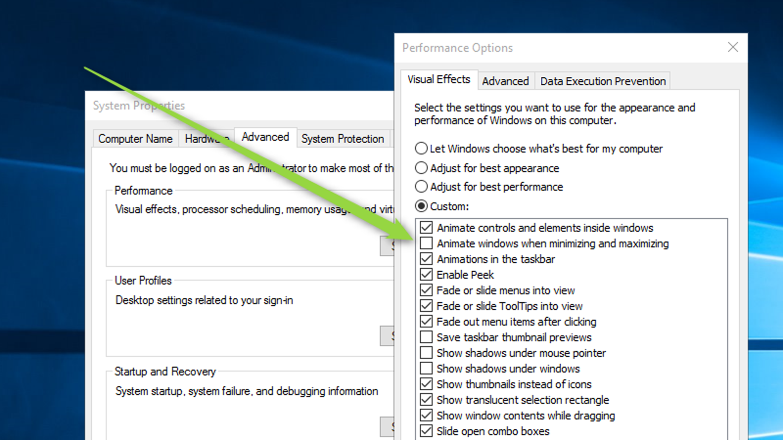 Disable This Animation to Make Windows 10's Start Menu Open Faster