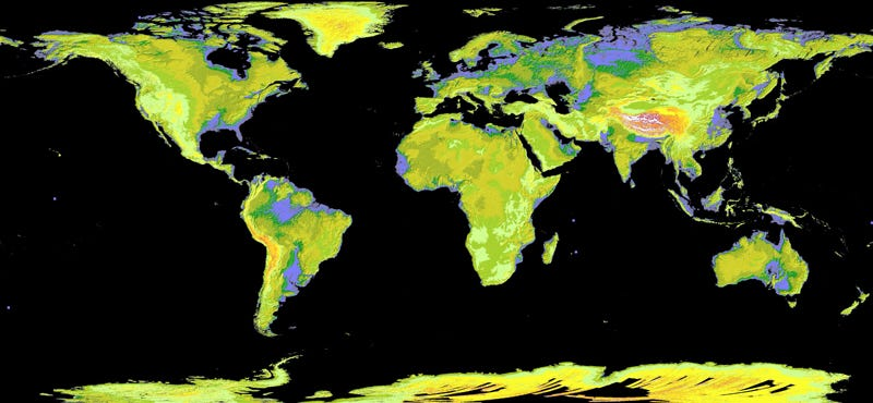 The most detailed 3d map of earth yet forget google maps nasa and japans ministry of economy have released the most detailed three dimensional map of earth yet it covers our planet between gumiabroncs Image collections