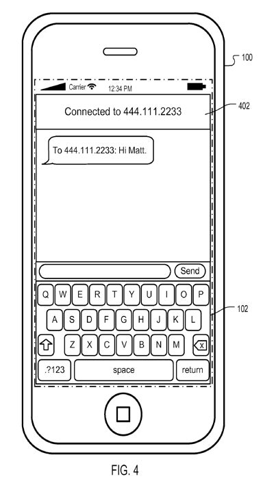 Illustration for article titled Apple Patents In-Call Messaging and File Transfer