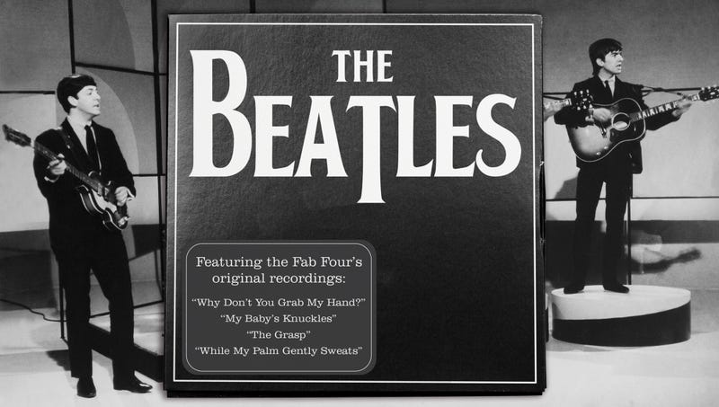 Illustration for article titled New Beatles Box Set Features 172 Unreleased Songs About Wanting To Hold Hands