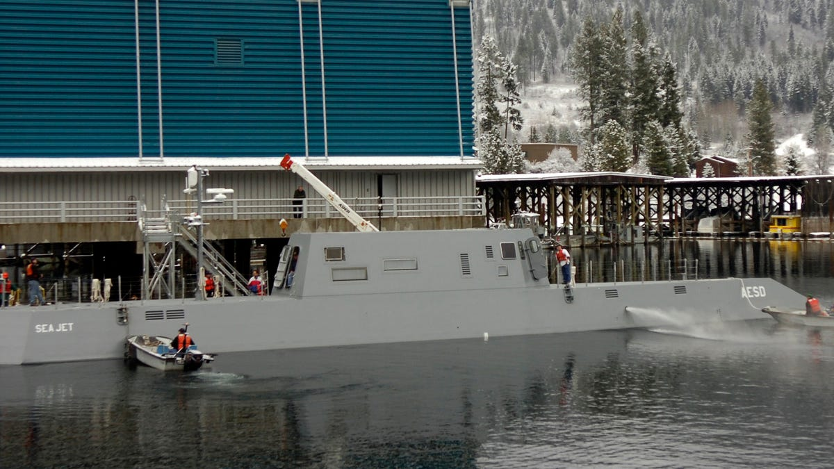 The Navy's Most Vital And Secretive Submarine Base Is In    Idaho?!?