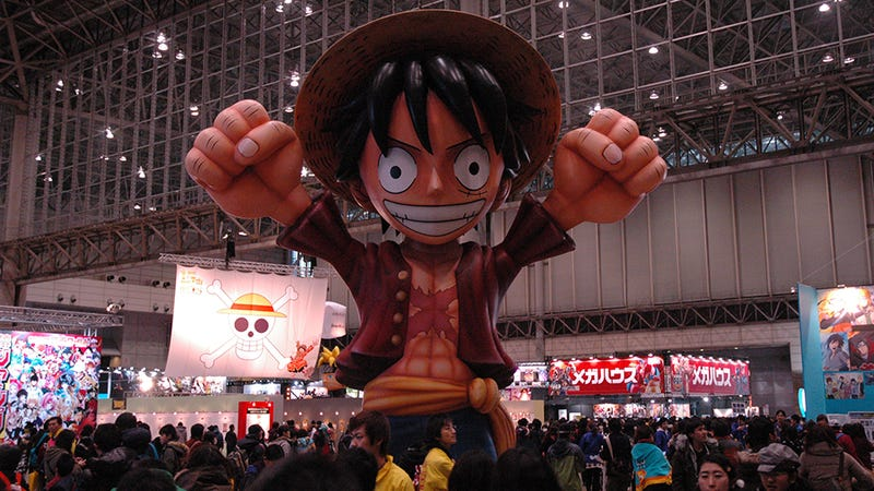 Illustration for article titled The Figures and Other Loot of Jump Festa 2013 (Giant Luffy Balloon Not Included)